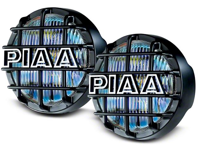 PIAA 540 Series 5 in. Round Ion Yellow Halogen Lights - Fog Beam - Pair