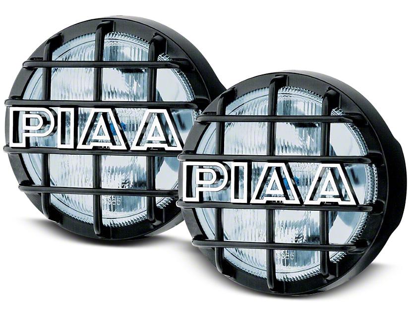 PIAA 540 Series 5 in. Round Xtreme White Halogen Lights - Driving Beam - Pair