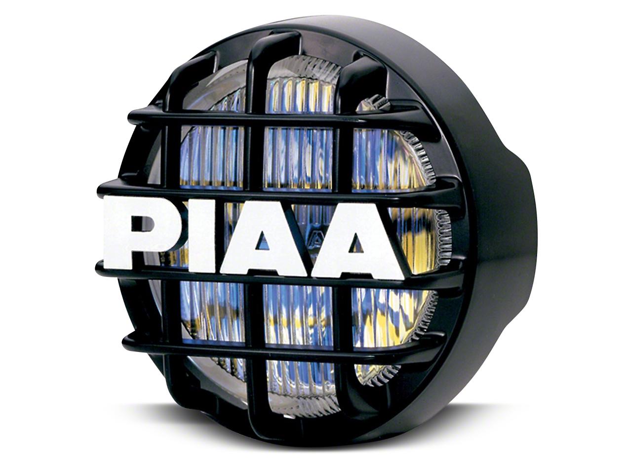 PIAA 510 Series 4 in. Round Ion Yellow Halogen Light - Fog Beam
