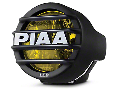 PIAA LP530 3.5 in. Round Ion Yellow LED Light - Driving Beam