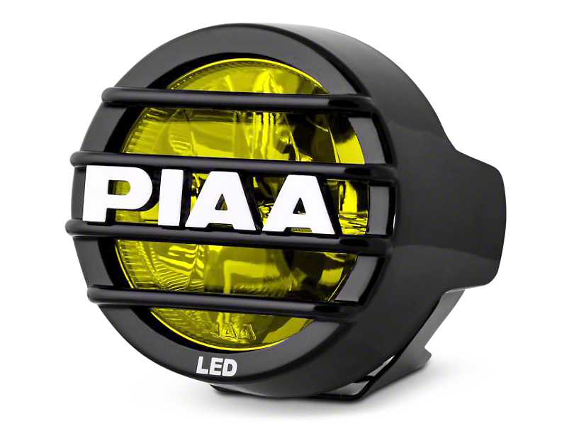 PIAA LP530 3.5 in. Round Ion Yellow LED Light - Fog Beam