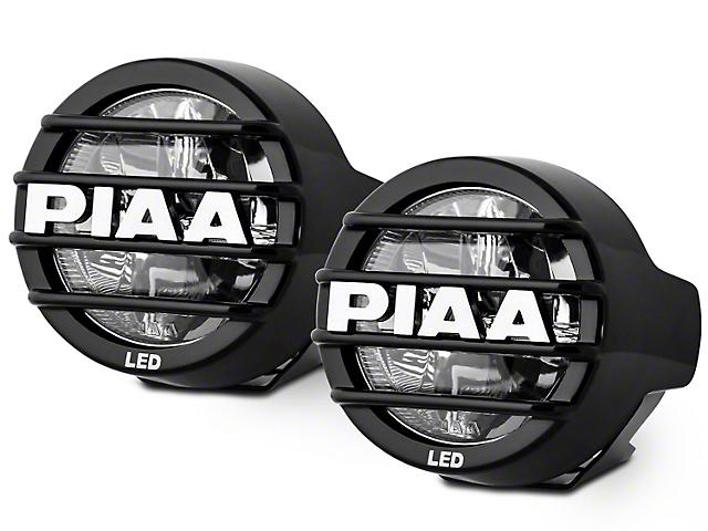 PIAA LP530 3.5 in. Round LED Lights - Driving Beam - Pair