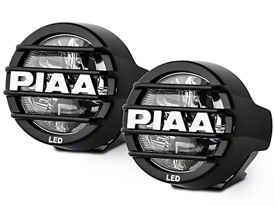 PIAA LP530 3.5 in. Round LED Lights - Driving Beam - Pair