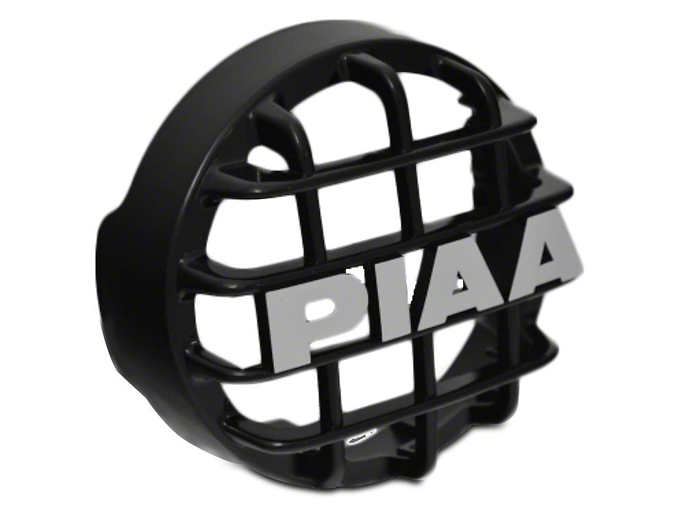 PIAA 510 Series 4 in. Black Mesh Grille w/ PIAA Logo (07-18 Silverado 1500)