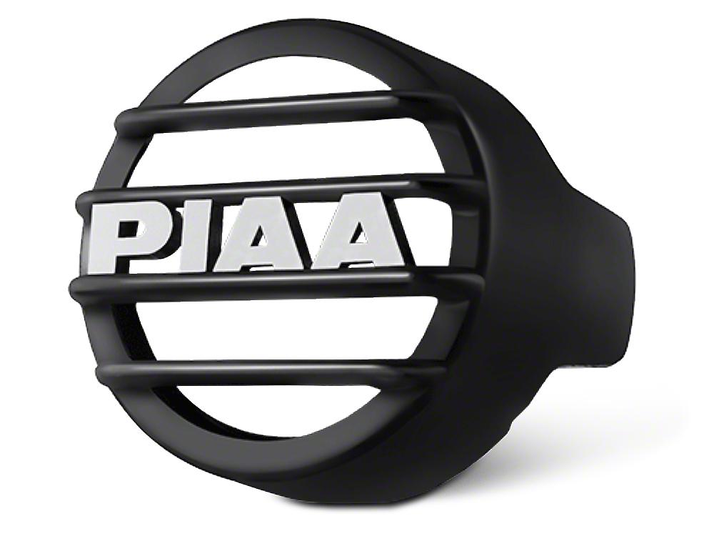 PIAA LP530 Series 3.5 in. Round Black Mesh Grille w/ PIAA Logo (07-18 Silverado 1500)