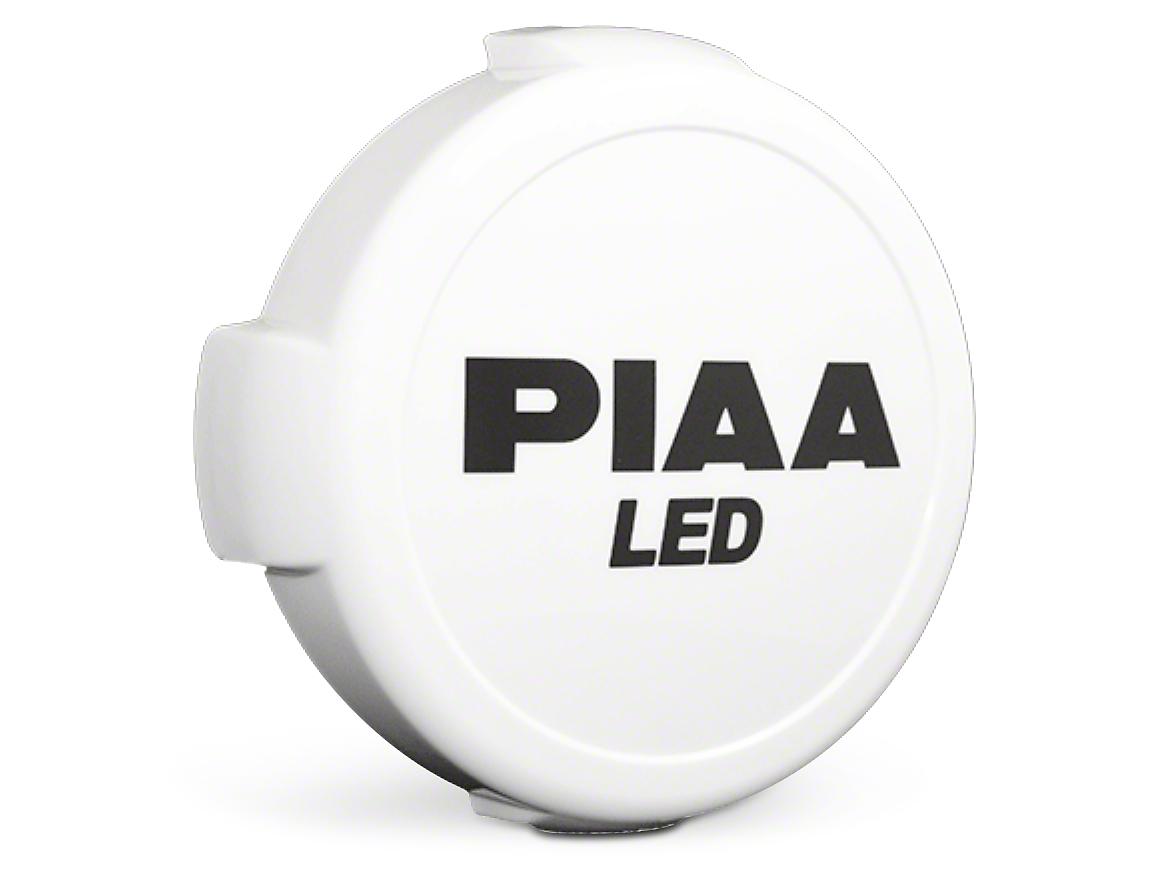 PIAA LP570 Series 7 in. Round Solid White Cover w/ PIAA Logo (07-18 Silverado 1500)