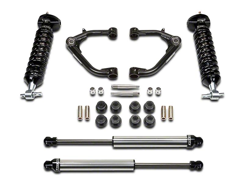 Fabtech 2 in. Uniball Upper Control Arm System w/ Dirt Logic Coilovers & Shocks (14-18 2WD/4WD Silverado 1500 Double Cab, Crew Cab)
