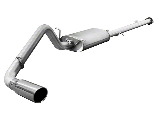 AFE MACH Force XP 3 in. Single Exhaust System w/ Polished Tip - Side Exit (07-08 6.0L Silverado 1500)