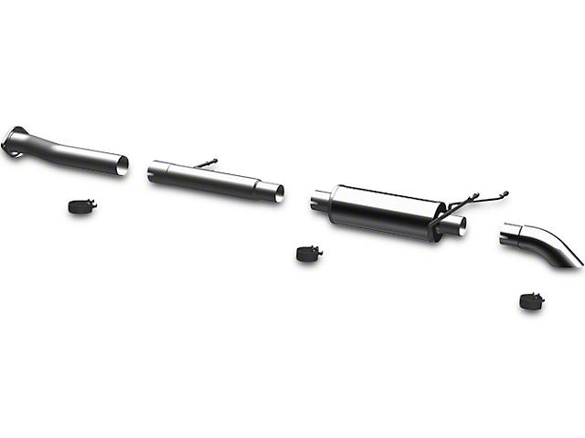 Magnaflow Off Road Pro Series Single Exhaust System; Turn Down (07-13 4.3L Silverado 1500)