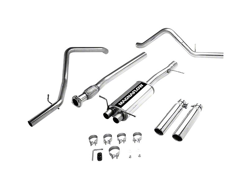 Magnaflow MF Series Dual Exhaust System - Rear Exit (07-13 4.8L Silverado 1500)