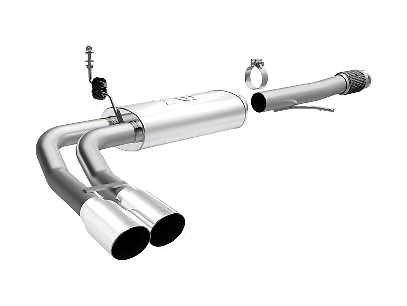 Magnaflow MF Series Dual Exhaust System - Middle Side Exit (14-18 5.3L Silverado 1500)