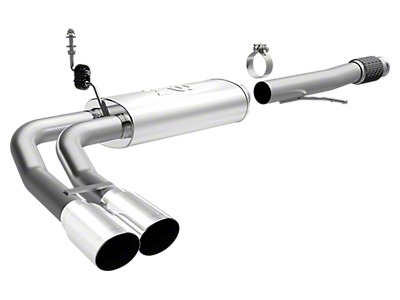 Magnaflow MF Series Dual Exhaust System - Middle Side Exit (14-18 5.3L Silverado 1500)