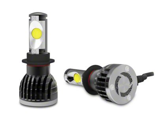 Lifetime LED Single Beam LED Low Beam Bulbs - H11 (07-15 Silverado 1500)