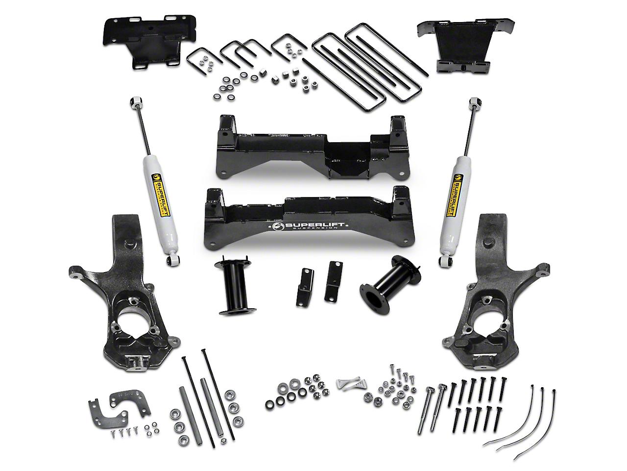 SuperLift 8 in. Suspension Lift Kit w/ Superide Shocks (07-13 4WD Silverado 1500)