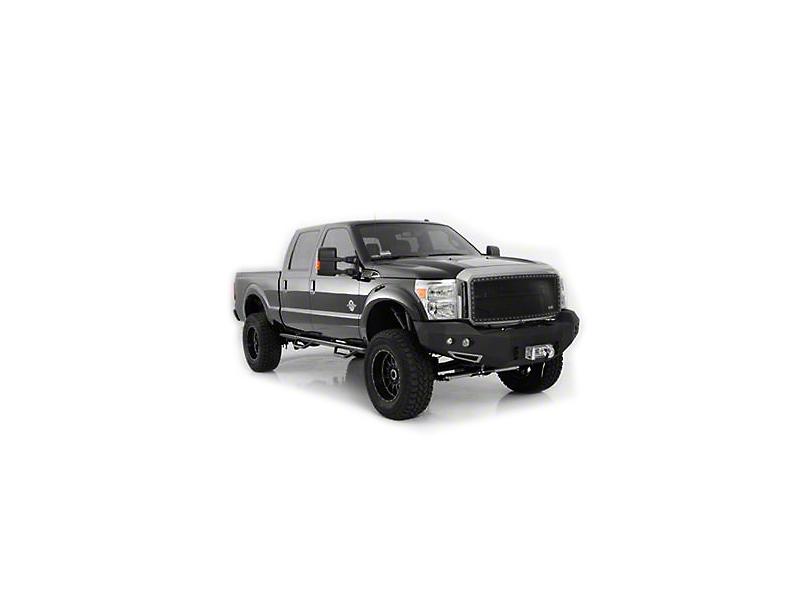 Smittybilt M1 Full Width Front Winch Bumper - Textured Black (14-15 Silverado 1500)