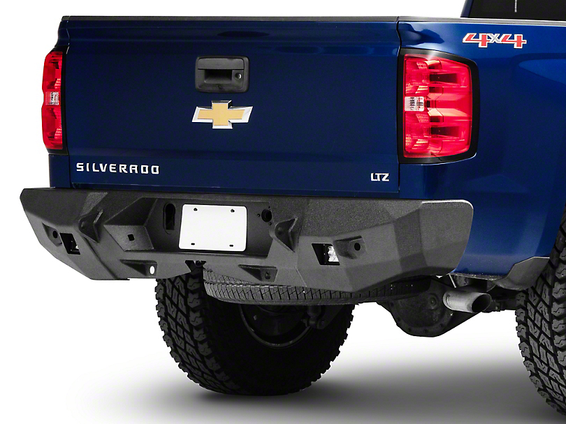 Smittybilt M1 Full Width Rear Bumper - Textured Black (14-15 Silverado 1500)