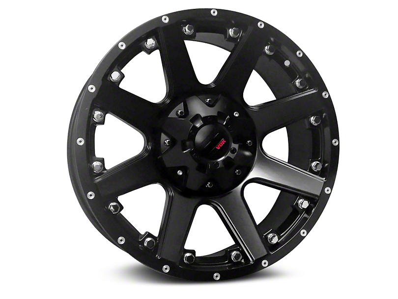Havok Off-Road H102 Matte Black 6-Lug Wheel - 20x9 (99-19 Silverado 1500)