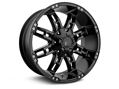 Havok Off-Road H103 Matte Black 6-Lug Wheel - 20x9 (07-17 Silverado 1500)