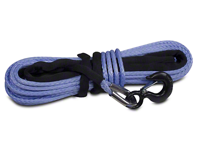 Rugged Ridge 3/8 in. x 94 ft. Synthetic Winch Rope - 19,310 lbs.