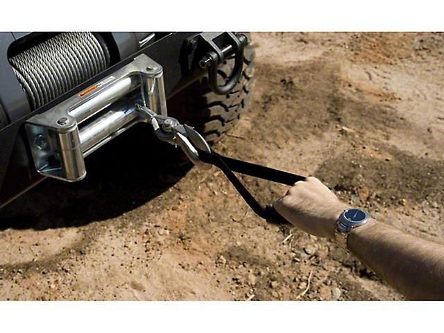 Rugged Ridge Winch Cable Handle - Black