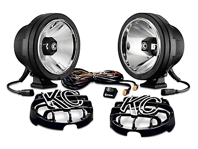 KC HiLiTES 6 in. Pro-Sport Gravity LED Lights - Driving Beam - Pair