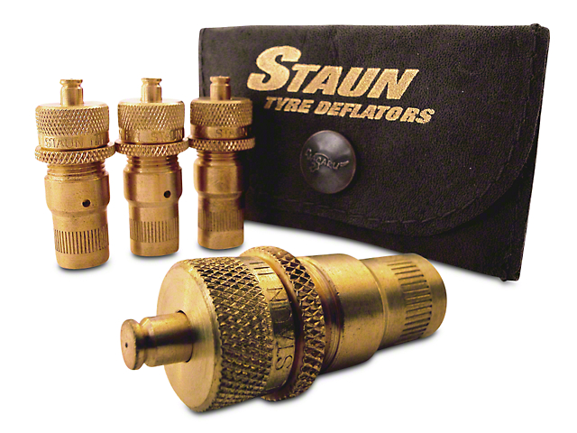 Staun Heavy Duty Tire Deflators - 15 to 55 PSI