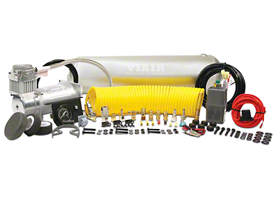 Viair Heavy Duty Onboard Air System (07-18 Silverado 1500)
