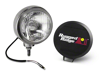 Rugged Ridge 5 in. Round HID Off-Road Fog Light - Single