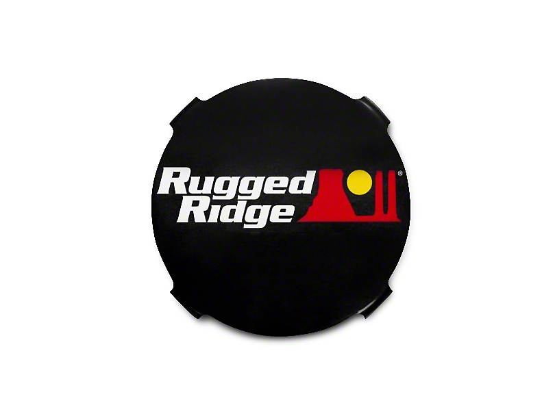Rugged Ridge 7 in. HID Off-Road Light Covers - Black (07-19 Silverado 1500)