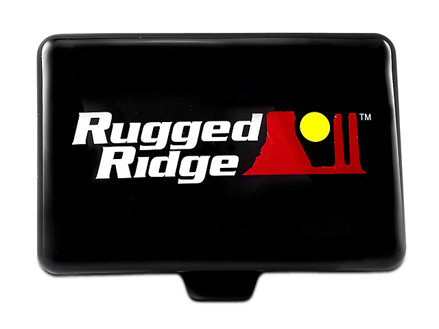 Rugged Ridge 5x7 in. Off-Road Light Cover - Black (07-19 Silverado 1500)