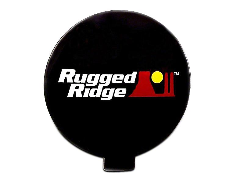 Rugged Ridge 6 in. Off-Road Light Cover - Black (07-18 Silverado 1500)