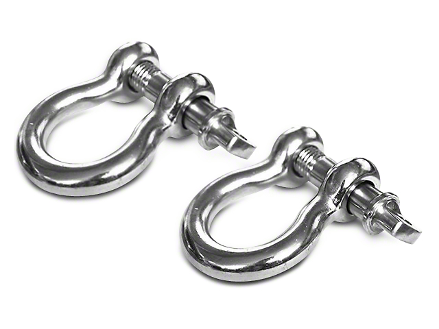 Rugged Ridge 3/4 in. D-Ring Shackles - Pair
