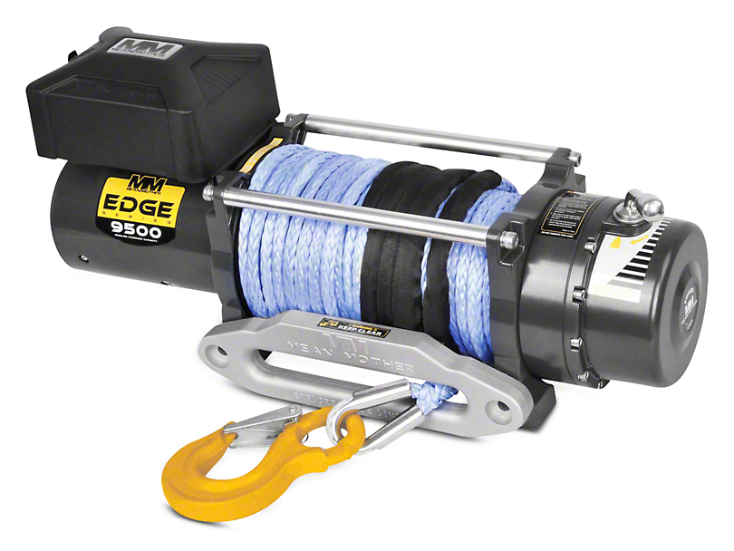 Mean Mother EDGE Series 9,500 lb. Winch w/ Synthetic Rope