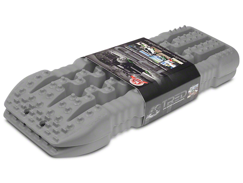 TRED 800 Traction Boards - Gun Metal Gray