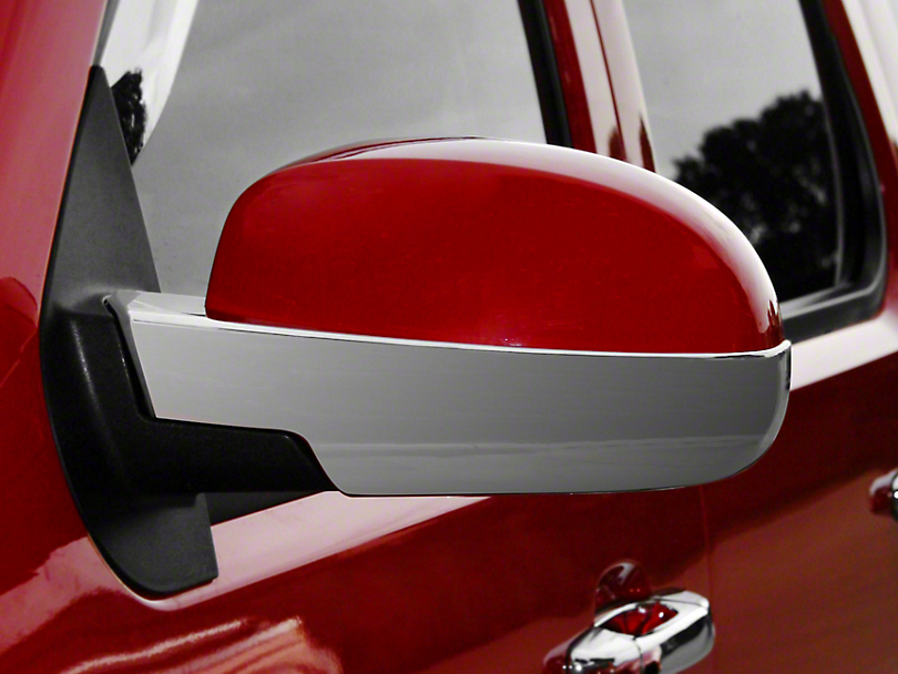 Putco Chrome Lower Mirror Cover w/ Cutout for Courtesy Light (07-13 Silverado 1500)
