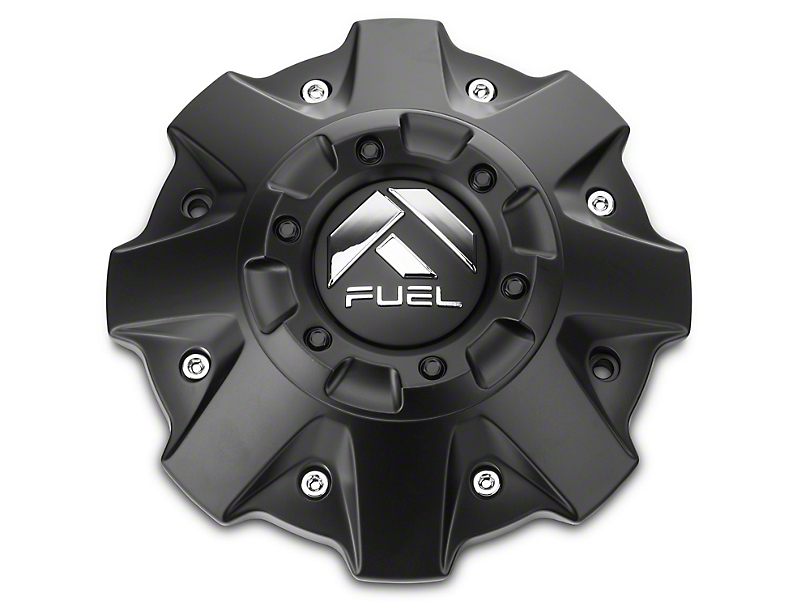 Fuel Wheels Black Center Cap (99-19 Silverado 1500)