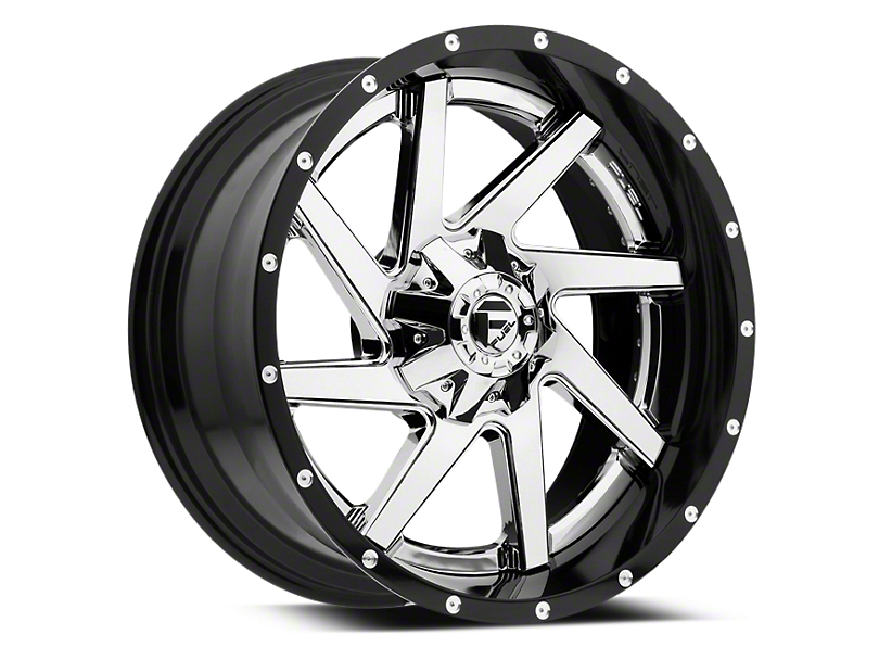 Fuel Wheels Renegade Chrome w/ Gloss Black Lip 6-Lug Wheel - 22x10 (99-19 Silverado 1500)