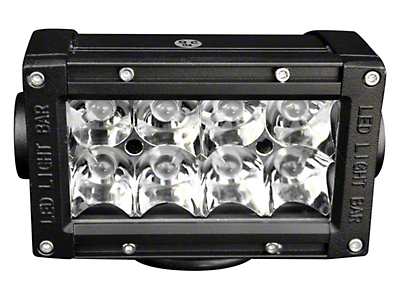 DV8 Off-Road 12 in. Chrome Series LED Light Bar - Flood/Spot Combo (07-18 Silverado 1500)