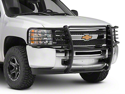 Black Horse Off Road Grille Guard - Black (07-13 Silverado 1500)