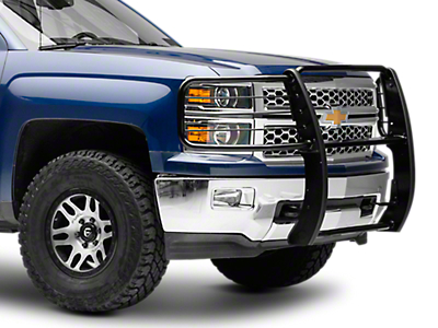 Black Horse Off Road Grille Guard - Black (14-18 Silverado 1500)
