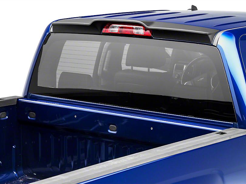 MMD Rear Truck Cab Spoiler - Matte Black (14-18 Silverado 1500 Double Cab, Crew Cab)