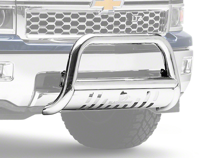 Black Horse Off Road Bull Bar - Stainless Steel (07-18 Silverado 1500)