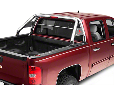 Black Horse Off Road Roll Bar - Stainless (07-18 Silverado 1500)