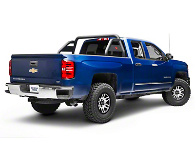 Black Horse Off Road Atlas Roll Bar - Black (07-18 Silverado 1500)