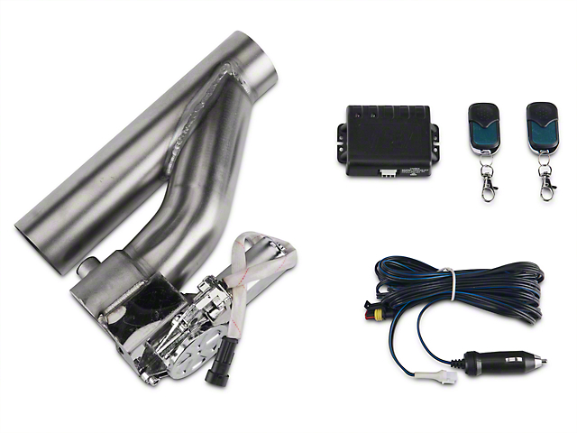 XForce Electronic Exhaust Cutout Kit; 2.50-Inch (Universal Fitment)