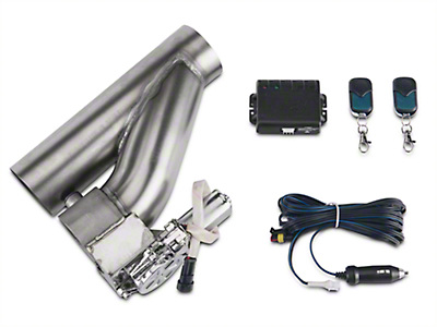 X-Force Electronic Exhaust Cutout Kit - 3 in. (99-18 Silverado 1500)