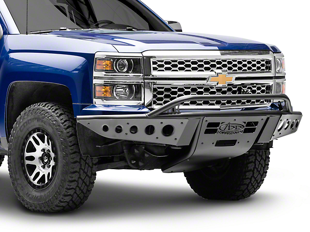 Addictive Desert Designs Stealth Front Bumper w/ Winch Mount (14-15 Silverado 1500)