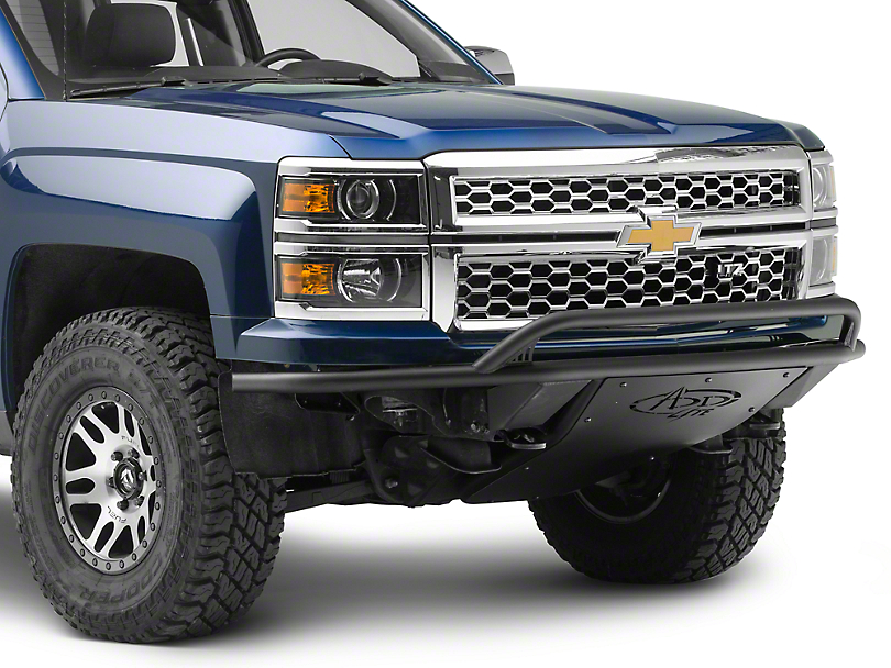Addictive Desert Designs ADD Lite Front Bumper w/ Top Hoop (14-15 Silverado 1500)