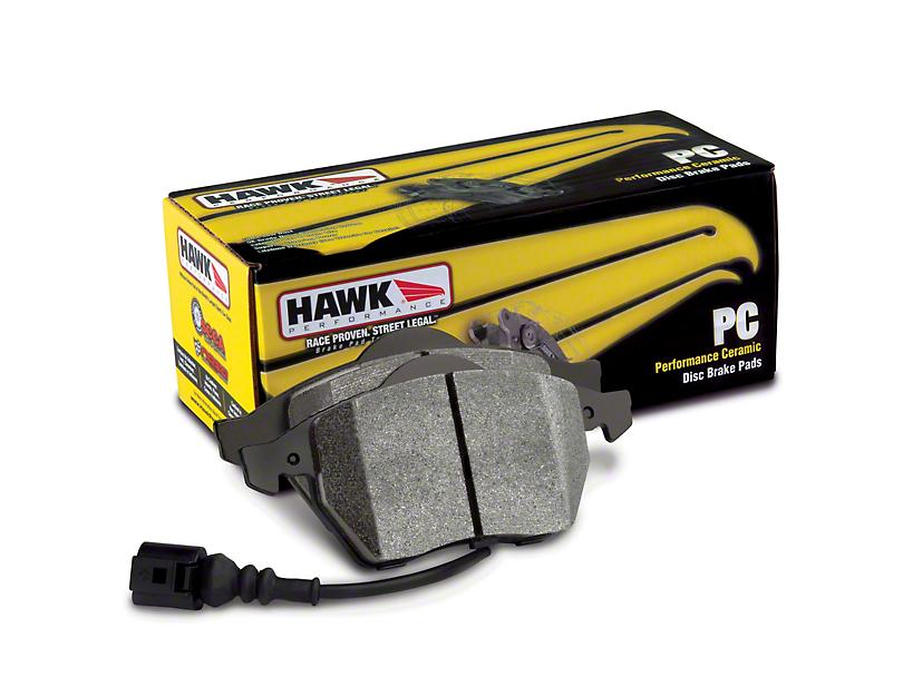 Hawk Performance Ceramic Brake Pads - Rear Pair (07-15 Silverado 1500 w/ Rear Disc Brakes)