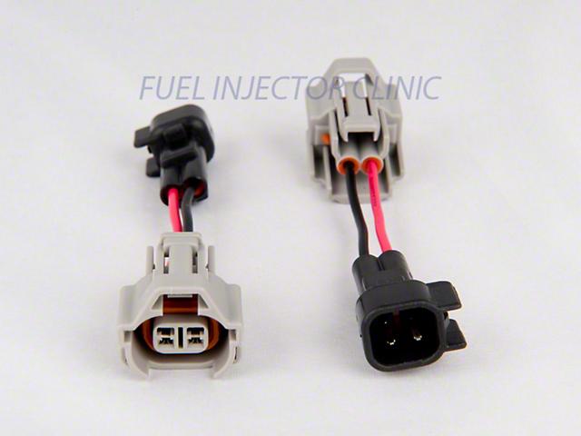 Fuel Injector Clinic Denso to USCAR/EV6 Adapters (07-13 V8 Silverado 1500)